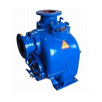 self priming non clog sewage pump