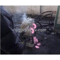 4-12 inch 325mm carbon steel induction heating hydraulic press machine