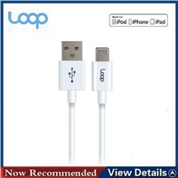 MFI certificated 8pin lightning cable for iphone6 plus/ipad air2/ipad mini3/ipod touch5/ipod nano7