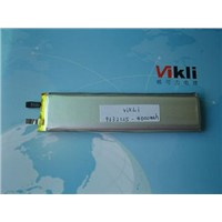 3.7V Li-polymer Battery 4000mah For Electronic Products