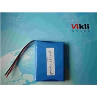 7.4V Lithium Ion Polymer Battery 2000MAH Used In Mini Printer, Li Ion Battey In High Quality