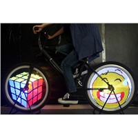 Bicycle Accessories Wholesale Bicycle Light LED Programmable Wheel Light LED