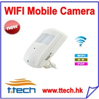 H.264 hd 720 wireless camera ip motion activated hidden spy wifi ip camera