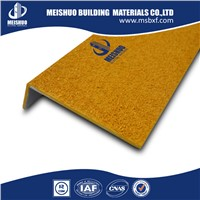 Yellow safety anti slip industrial fiberglass stair treads(MSSNC-27)