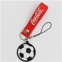 Embossed logo CoCola key chain for promotion