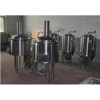 200L electric heating wide used Micro Beer Brewing Equipment beer processing machine for sale