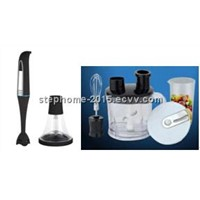 Full Set Hand Blender with food processor and chopper(Model No. HB-101P)