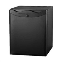 Hot selling black door 40L hotel mini refrigerator