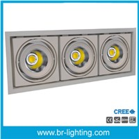 30W*3 COB LED Downlight for shop lighting
