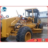 Cat Motor Used Wheel Grader with Nice Aftersales (140H)