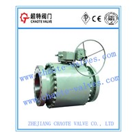 Forged Steel Trunnion Ball Valve (Q347F)