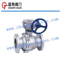 Metal Hard Seal Floating Ball Valve (Q341H)