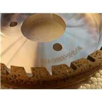 Metal bond diamond grinding wheel for glass polishing