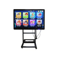 SANMAO 84 Inch High Resolution 3840*2160 LED One Touch Screen Machine with VGA Input