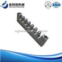aluminum machining for laser cutting machinery textile