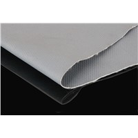 Silicone coated fiberglass fabric 17OZ grey