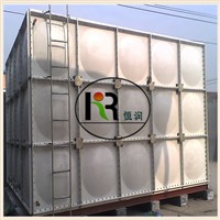 Trade Assurance square sectional fiberglass grp smc frp panel water storage tank with best price