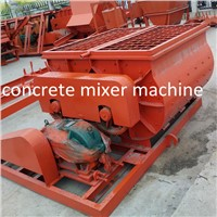 Factory direct sale JS500  twin shaft concrete mixer machines