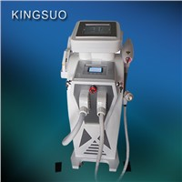 3 in 1 E-light/IPL RF Nd yag  laser beauty salon equipment