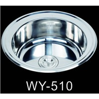 China Factory Suppy Stainless Steel Kitchen Sink WY-510