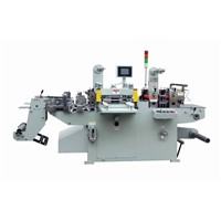 Hot Transfer Foil Stamping Machine With Die Cutter Machine Controlled By Servo Motors