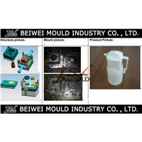 Injection Plastic Water Kettle Jug Mould