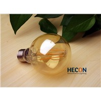 LED filament ancient style lamp 4W decoration lamp with CE TUV ETL approved