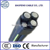 Overhead Application Aluminium conductor material Aerial ABC CABLE