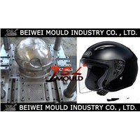 OEM Custom Injection plastic full half face open motorcycle helmet mould