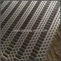 Galvanized Expanded Metal Gothic Mesh