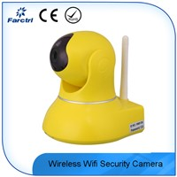 Wireless Wifi Burglar Alarm IP Security Camera With Night Vision