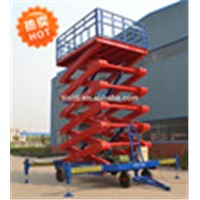 SJPT03-10 China high working performance mobile lift platform