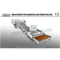 semi-automatic bulletproof Glass Production Line