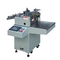 Roll To Sheet Cutting Machine For Wrapping Packaging Film, Paper With Unwinder