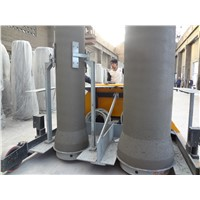 vertical vibration Concrete pipe forms 300-1200mm