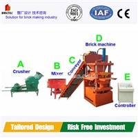 Mini Brick Making Machine with low price