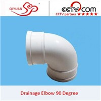 Plastic Pipe Fittings PVC 90 deg Elbow For Water Supply/Drainage