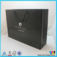 luxury black supermarket paper bag wholesales