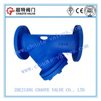 DIN 3356 Cast Steel Y-Strainer (YG41H)