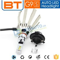 Wholesale Fanless Car LED Headlight H4 H13 9004 Hi Lo Beams Car Headlights