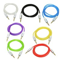 High quality sound output male audio cable 3.5mm for car use