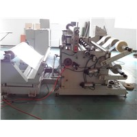 Latex Saturated Paper Metallized Polyester Film Slitting Rewinding Machine Triming Blower