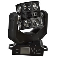 HOT SALE 16*10W CREE RGBW 4in1 LED Moving Head Beam Double Flying Light With High Speed Rotation