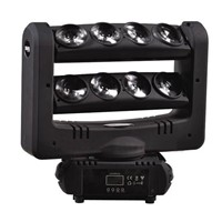 Rasha Brand 8pcs*10W Cree 4in1 RGBW LED Moving Head Spider Light With Double Layer,Stage Light