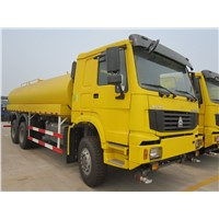 SINOTRUK HOWO OIL TANK TRUCK FOR GOOD SALE