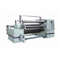 Slitting Rewinding Machine Transparent Shading Film, Reflecting Diffuse Film Slit To 40 Rolls