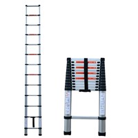telescopic aluminum ladder 12feet maximum capacity 150kgs