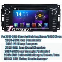 Android 4.4 Quad Core Car DVD GPS For Jeep 2007-2010 Chrysler