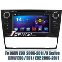 Android 4.4 Quad Core Car DVD Player For BMW E90 2006-2011 Auto GPS Navigation