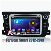 Android 4.4 Quad Core Car DVD Player For Benz Smart 2012-2013 GPS Navigation